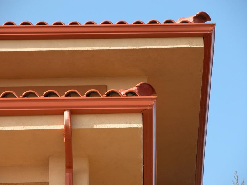 Canalones pozuelo canalones for Canalon de aluminio