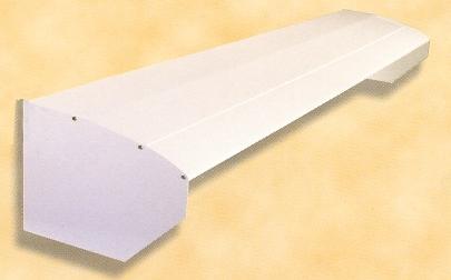 Tejadillos for Barras de aluminio para toldos